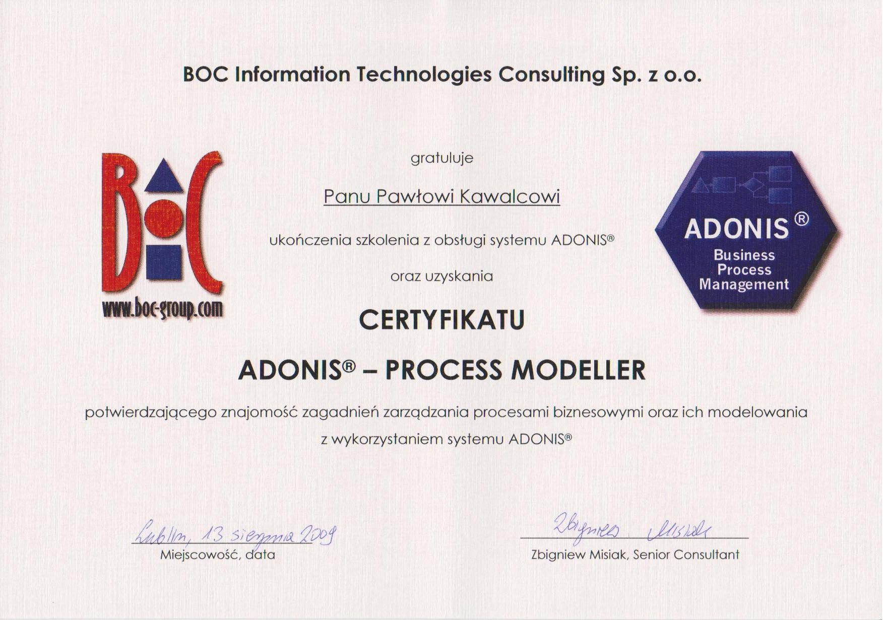 Adonis Process Modeller