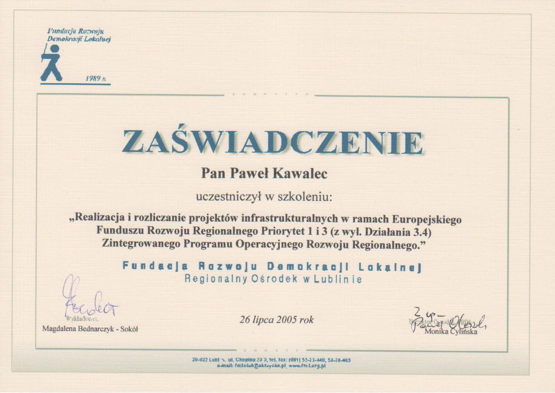 Fundacja Rozwoju Demokracji Lokalnej - EFRR