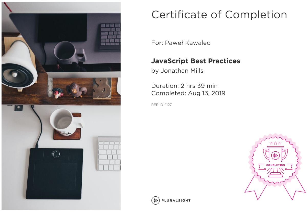 JavaScript Best Practicles